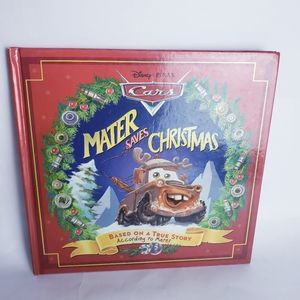 Mater saves Christmas book